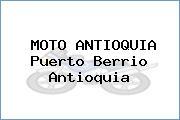 MOTO ANTIOQUIA Puerto Berrio Antioquia