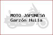 MOTO JAPONESA Garzón Huila