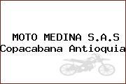 MOTO MEDINA S.A.S Copacabana Antioquia