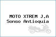 MOTO XTREM J.A Sonso Antioquia