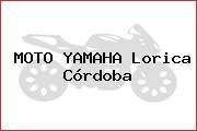MOTO YAMAHA Lorica Córdoba