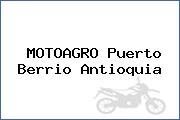 MOTOAGRO Puerto Berrio Antioquia