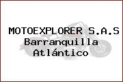 MotoExplorer S.A.S. Barranquilla  Atlántico