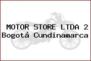 MOTOR STORE LTDA 2 Bogotá Cundinamarca