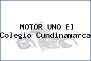 MOTOR UNO El Colegio Cundinamarca