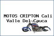 MOTOS CRIPTON Cali Valle Del Cauca