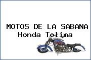 MOTOS DE LA SABANA Honda Tolima