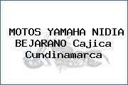 MOTOS YAMAHA NIDIA BEJARANO Cajica Cundinamarca