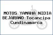 MOTOS YAMAHA NIDIA BEJARANO Tocancipa Cundinamarca
