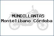MUNDILLANTAS Montelibano Córdoba