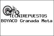 TECNIREPUESTOS BOYACO Granada Meta