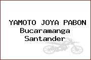 Yamoto Joya Pabon Bucaramanga Santander