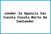 <i>condor Sa Agencia Sas Cucuta Cucuta Norte De Santander</i>