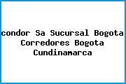 <i>condor Sa Sucursal Bogota Corredores Bogota Cundinamarca</i>