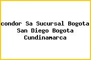<i>condor Sa Sucursal Bogota San Diego Bogota Cundinamarca</i>