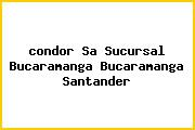 <i>condor Sa Sucursal Bucaramanga Bucaramanga Santander</i>