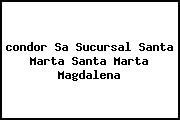 <i>condor Sa Sucursal Santa Marta Santa Marta Magdalena</i>