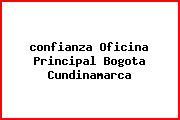 Teléfono y Dirección Confianza, Oficina Principal, Bogotá, Cundinamarca