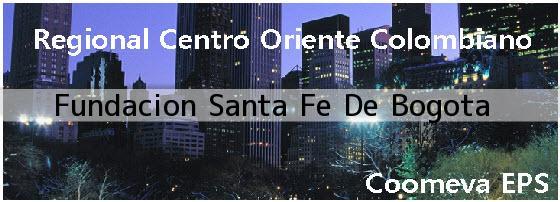 <i>Fundacion Santa Fe De Bogota</i>