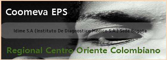 Idime S.A (Instituto De Diagnostico Médico S.A.) Sede Bogota