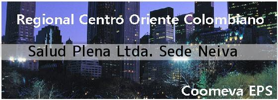 <i>Salud Plena Ltda. Sede Neiva</i>