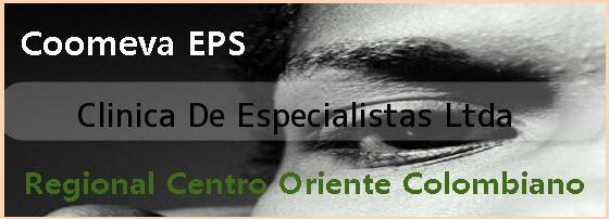 <i>Clinica De Especialistas Ltda</i>