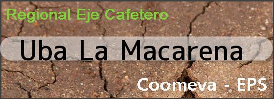 <i>Uba La Macarena</i>