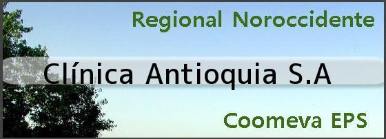 <i>Clínica Antioquia S.A</i>