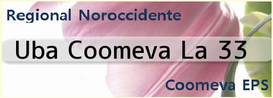 <i>Uba Coomeva La 33</i>