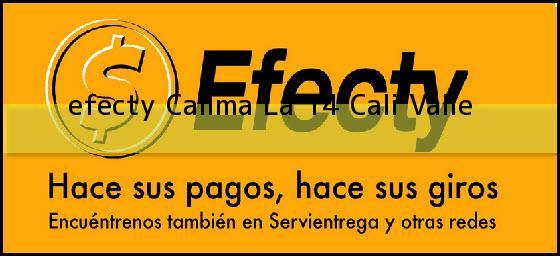 <b>efecty Calima La 14</b> Cali Valle
