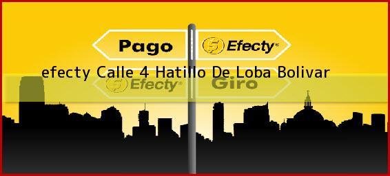 <b>efecty Calle 4</b> Hatillo De Loba Bolivar