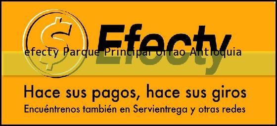 <b>efecty Parque Principal</b> Urrao Antioquia
