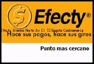 Teléfono y Dirección Efecty, Álamos Norte Av. Cl 72 , Bogota, Cundinamarca