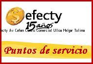 <i>efecty Av Cafam Centro Comercial Ulloa</i> Melgar Tolima