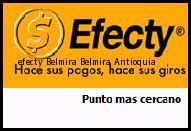 Teléfono y Dirección Efecty, Belmira , Belmira, Antioquia