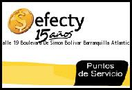 <i>efecty Calle 19 Boulevard De Simon Bolivar</i> Barranquilla Atlantico