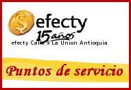 Teléfono y Dirección Efecty, Calle 9 , La Union, Antioquia
