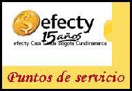 Teléfono y Dirección Efecty, Casa Linda , Bogota, Cundinamarca