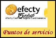 Teléfono y Dirección Efecty, Castilla , Bogota, Cundinamarca