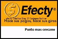 Teléfono y Dirección Efecty, Ceballos Diag 27 , Cartagena, Bolivar