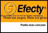 Teléfono y Dirección Efecty, Kennedy Distrito Militar , Bogota, Cundinamarca