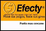 Teléfono y Dirección Efecty, San Fernando Uno , Cali, Valle