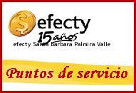 Teléfono y Dirección Efecty, Santa Barbara , Palmira, Valle