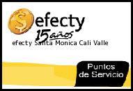 Teléfono y Dirección Efecty, Santa Monica , Cali, Valle
