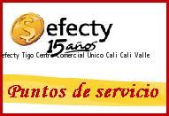 Teléfono y Dirección Efecty, Tigo Centro Comercial Unico Cali, Cali, Valle