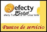 Teléfono y Dirección Efecty, Tulua Cra 30, Tulua, Valle