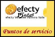 Teléfono y Dirección Efecty, Versalles , Palmira, Valle