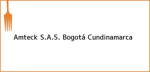 Teléfono, Dirección y otros datos de contacto para Amteck S.A.S., Bogotá, Cundinamarca, Colombia