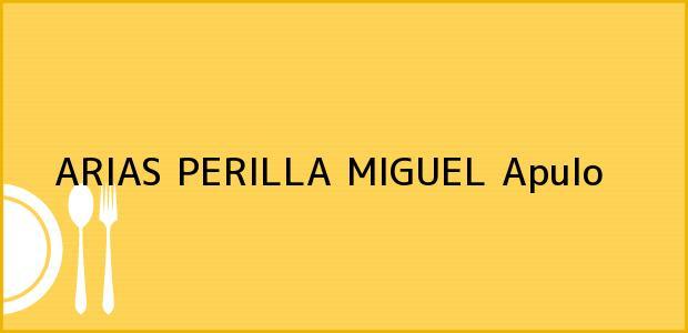 Teléfono, Dirección y otros datos de contacto para ARIAS PERILLA MIGUEL, Apulo, , Colombia