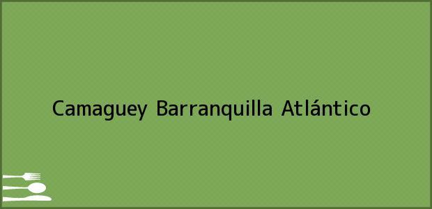 Teléfono, Dirección y otros datos de contacto para Camaguey, Barranquilla, Atlántico, Colombia